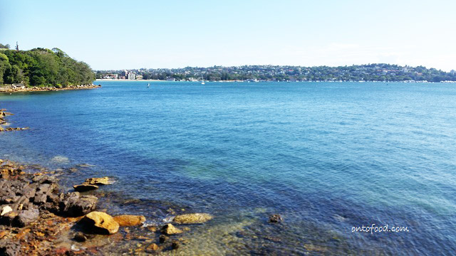 Sydney National Park outlook to Rose Bay and Point Piper