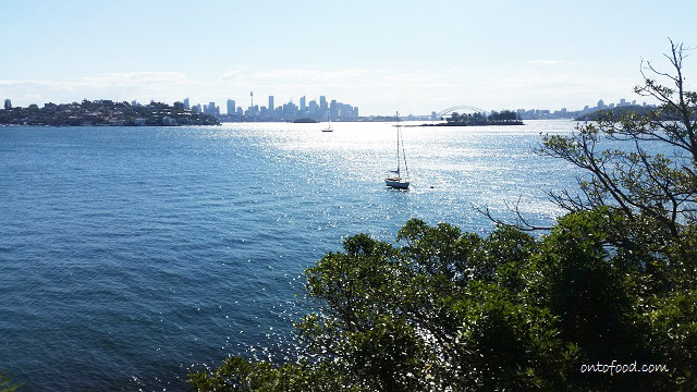 Sydney Harbour National Park views to Point Piper and Shark Island